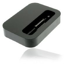 UNIVERSAL DESKTOP CHARGER DOCK STATION FOR IPHONE AND IPOD (BLACK)